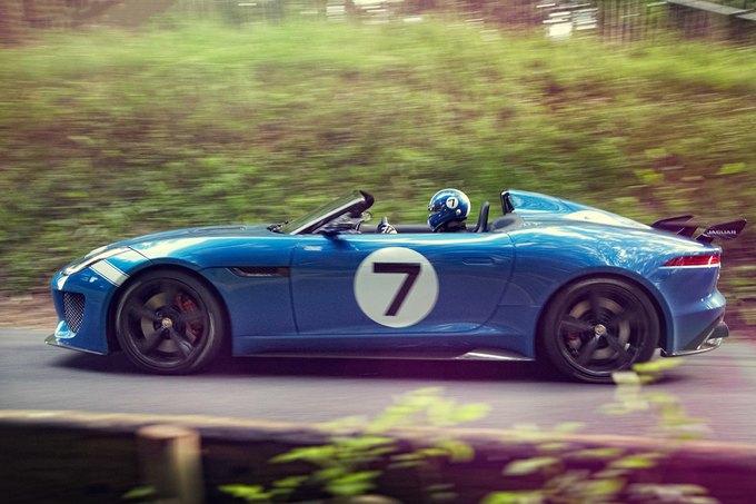 Jaguar представили родстер Project 7. Изображение № 1.