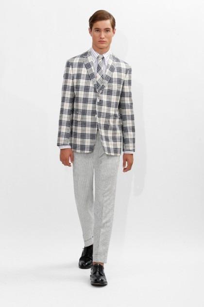 Марка Brooks Brothers представила новую коллекцию одежды линейки Black Fleece . Изображение № 1.