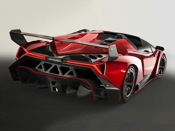Lamborghini представили новый родстер Veneno. Изображение № 5.