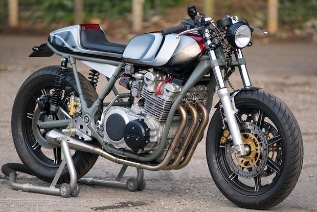 Мастерская Spirit of the Seventies выпустила каферейсер на основе Yamaha XS750. Изображение № 2.