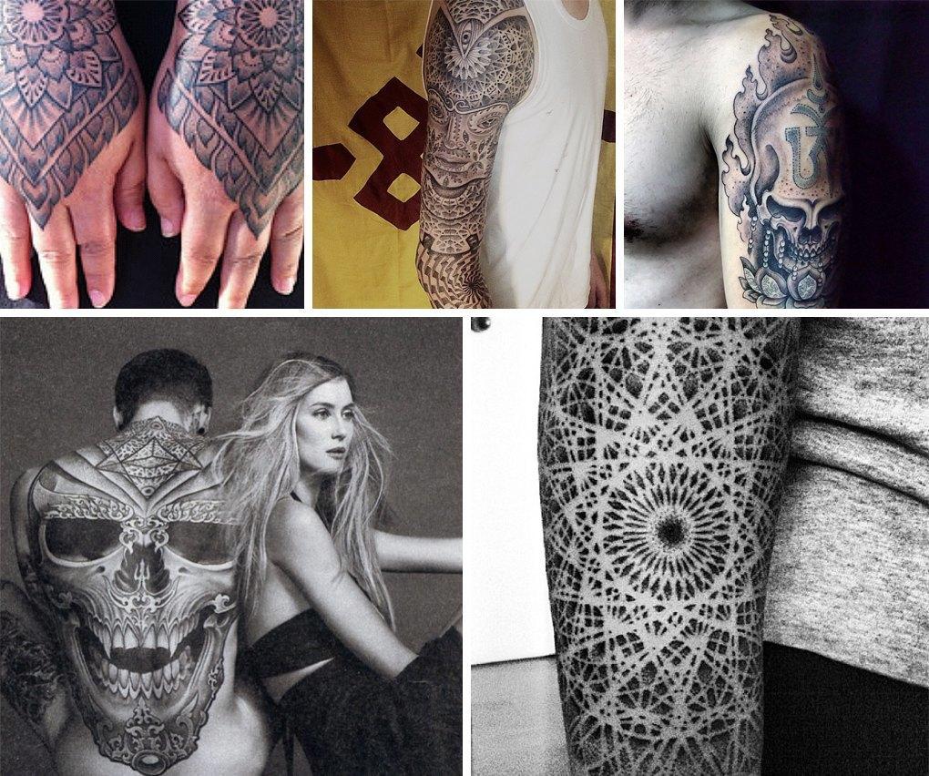 Что публикуют в своих Instagram известные татуировщики. Изображение № 8.