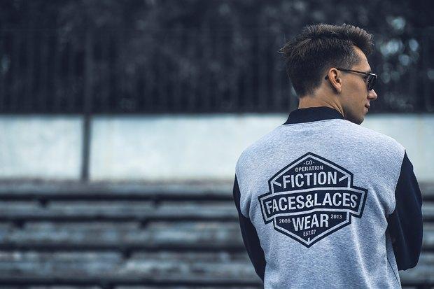 Марка одежды Fiction опубликовала лукбук новой коллекции. Изображение № 18.