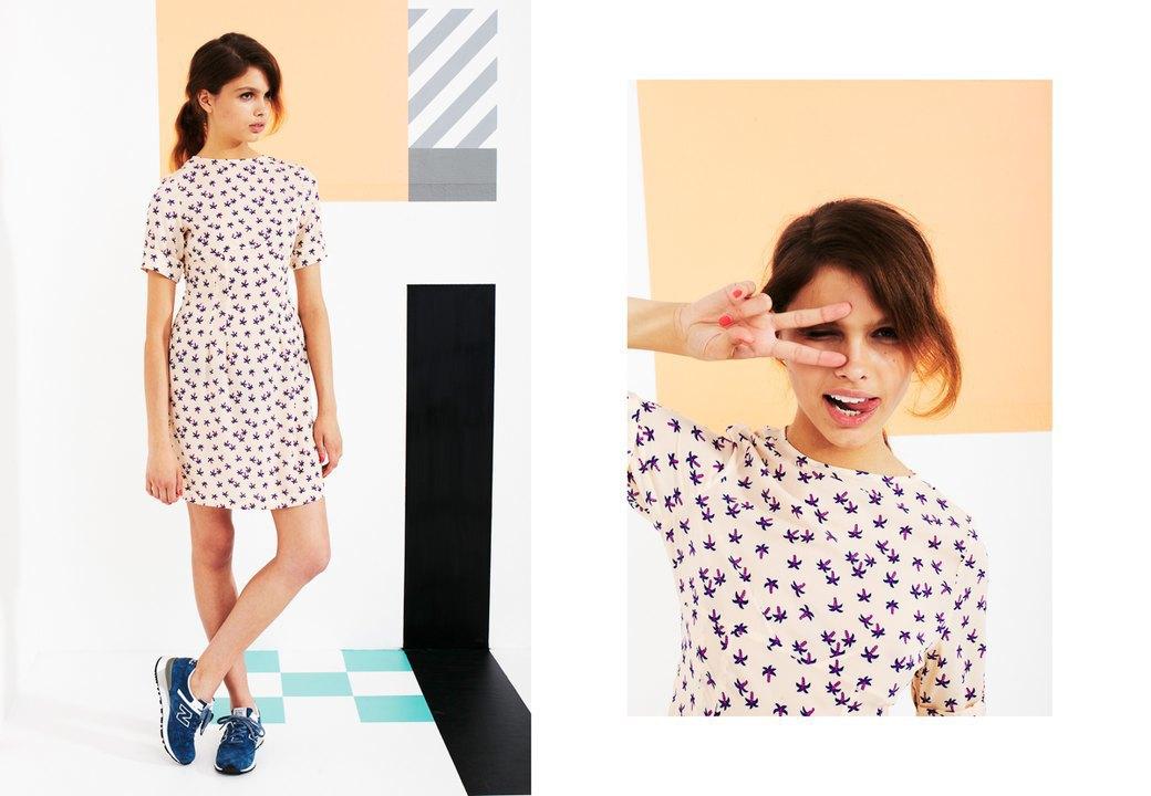 Магазин Kixbox выпустил лукбук весенней коллекции одежды. Изображение № 18.