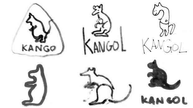 Дизайнеры Look At Media рисуют логотипы марок одежды по памяти. Изображение № 6.