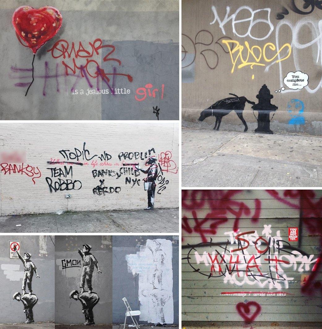 Бэнкси в Нью-Йорке: Как британский художник захватил столицу граффити. Изображение № 4.