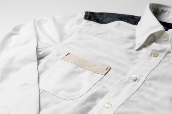 Изображение 4. Дизайнер Джуниа Ватанабe создал рубашку вместе с Brooks Brothers.. Изображение № 4.
