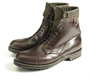 Совместная коллекция обуви марок Grenson и Barbour. Изображение № 4.