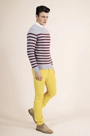 Марка A.P.C. опубликовала лукбук весенней коллекции одежды. Изображение № 19.