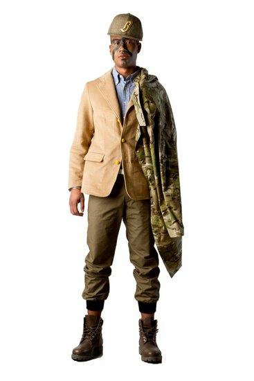 Марка Billionaire Boys Club опубликовала лукбук осенней коллекции одежды своей линейки Bee Line. Изображение № 4.