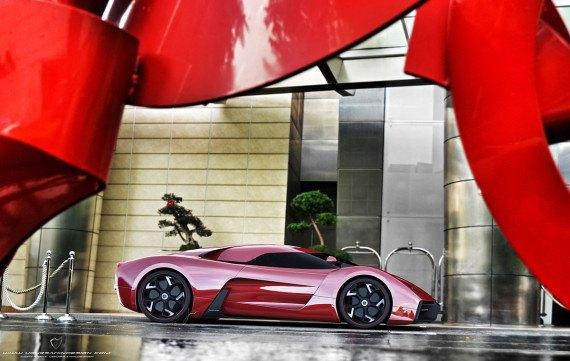 Представлен новый концепт суперкара на базе Ferrari 458 Italia. Изображение № 12.