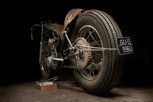 Испанская мастерская El Solitario изготовила мотоцикл Winning Loser. Изображение № 19.