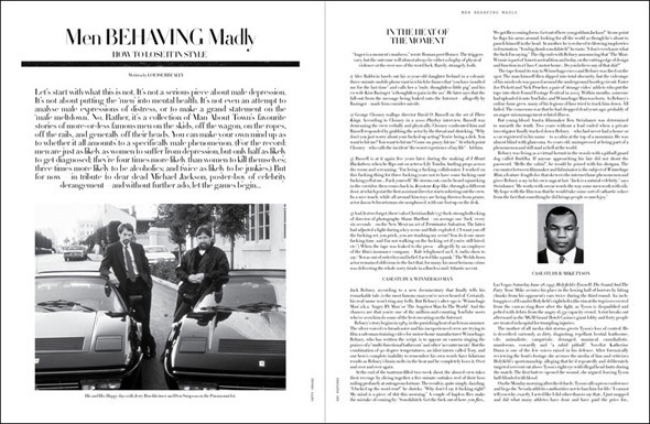 Special Issue: Мужской журнал Man About Town. Изображение № 20.