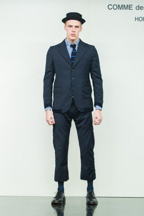 Марка Comme des Garçons Homme опубликовала лукбук новой коллекции. Изображение № 10.
