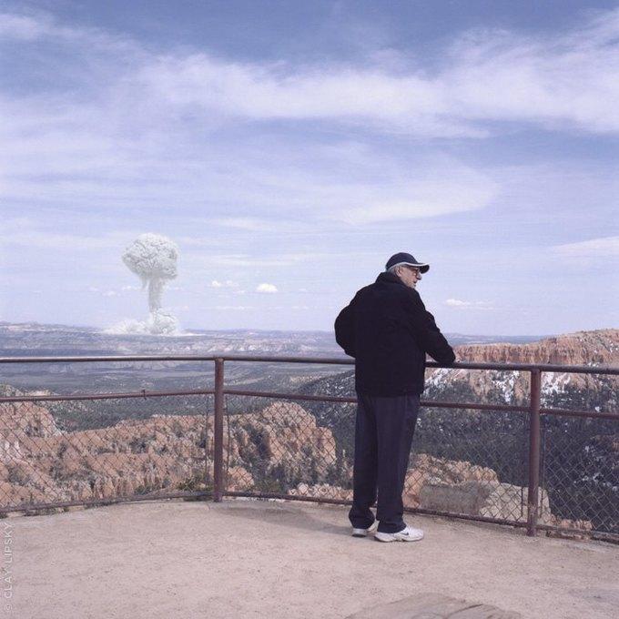 Atomic Overlook: Атомный взрыв как туристический объект на фото Клэя Липски. Изображение № 11.