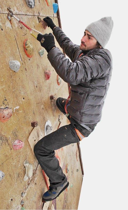 Горностайл: Профессиональный альпинист тестирует аутдор-одежду. Изображение № 1.