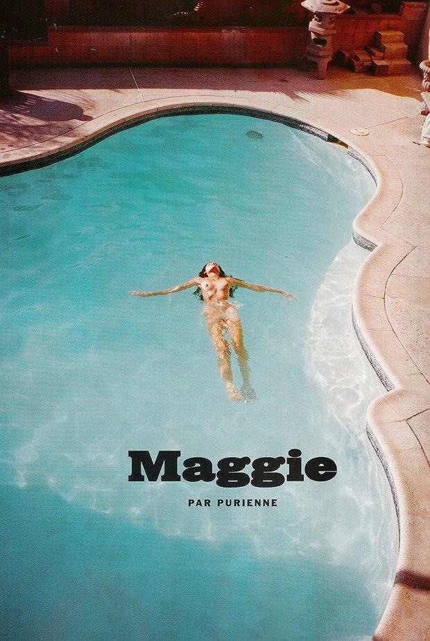 Хенрик Пурьенн снял модель Мэгги Дюран для журнала Lui Magazine. Изображение № 1.
