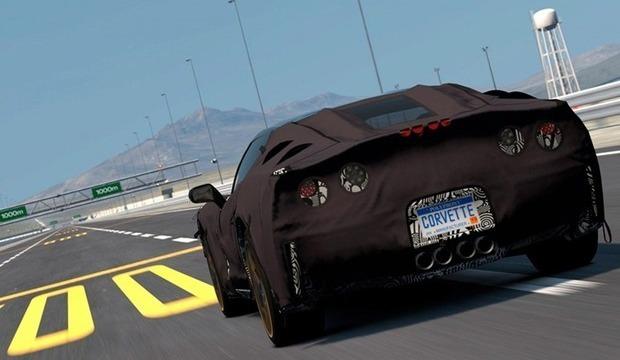 Chevrolet предлагает испытать новый Corvette 7 на PlayStation. Изображение № 4.