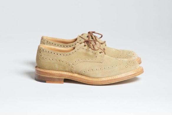 Совместная коллекция обуви Trickers и Superdenim. Изображение № 4.