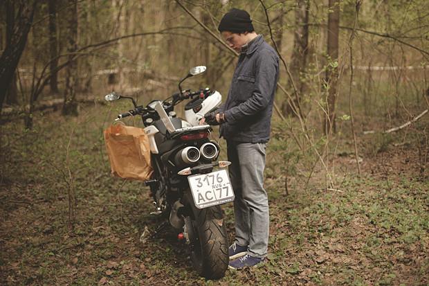Репортаж со съемок тест-драйва мотоцикла Kawarna. Изображение № 18.
