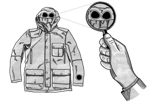 Внимание к деталям: Как появились очки на капюшоне курток C.P. Company. Изображение № 1.