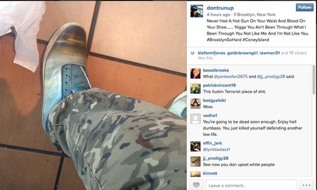 Застреливший нью-йоркских копов «отчитался» об убийствах через Instagram. Изображение № 2.