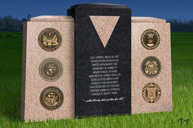В Чикаго поставят памятник ветеранам-геям. Изображение № 1.