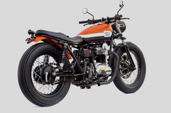 Мотоцикл Kawasaki W650 мастерской Deus Ex Machina. Изображение № 1.