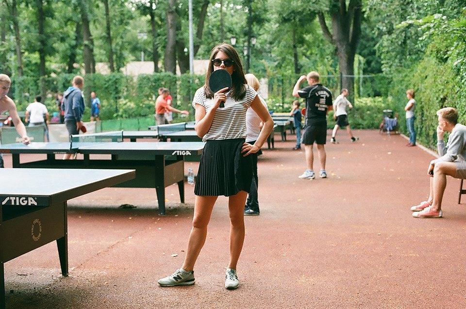 Фоторепортаж: Женский турнир по пинг-понгу в Нескучном саду. Изображение № 7.