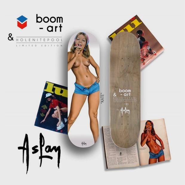 Компания Boom-art выпустила деки для скейтбординга с иллюстрациями обнаженных девушек. Изображение № 2.