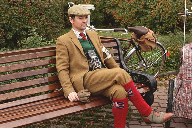 Детали: Репортаж с велозаезда Tweed Ride Moscow. Изображение № 5.