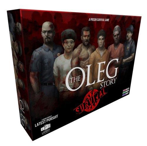 Появилась новая настольная игра про выживание в тюрьме The Oleg Story. Изображение № 1.