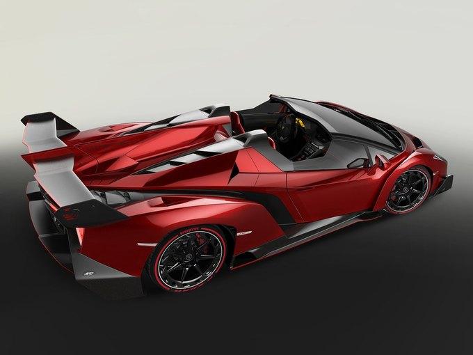 Lamborghini представили новый родстер Veneno. Изображение № 3.