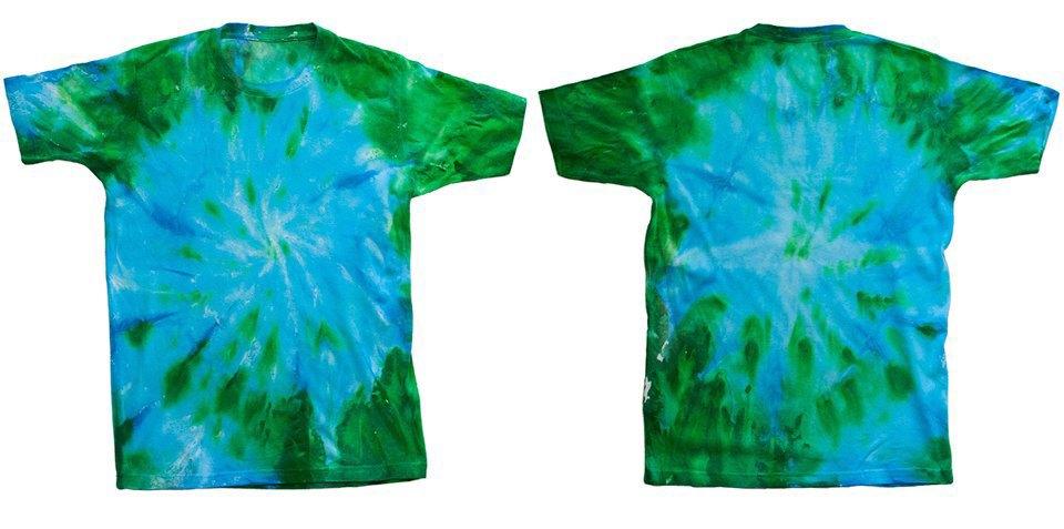 Как покрасить футболку техникой тай-дай. Изображение № 14.
