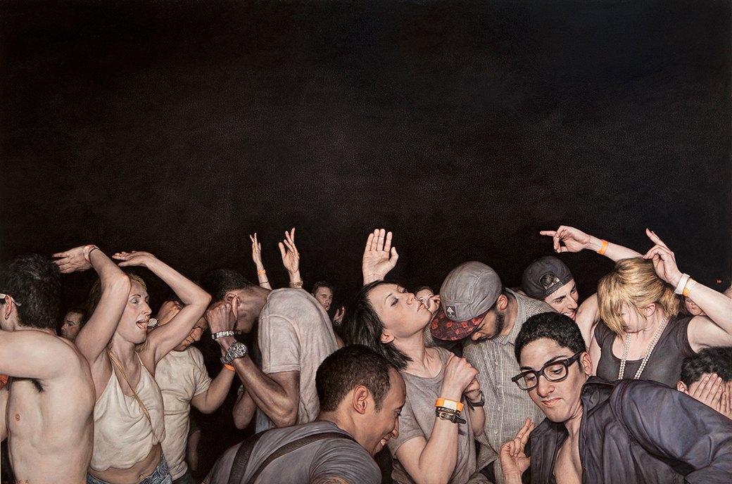 Эстетика мошпита: Хардкор-живопись, вдохновлённая Рубенсом и Босхом. Изображение № 16.