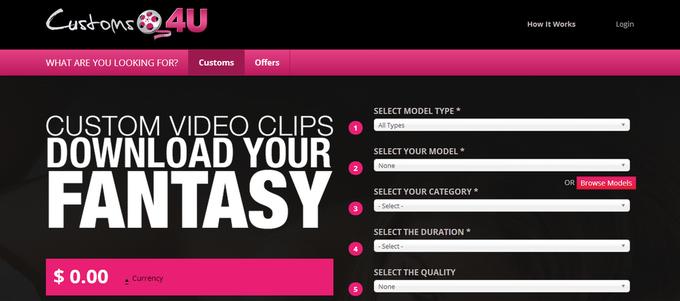 В сети появился сайт, позволяющий конструировать собственное порно. Изображение № 1.