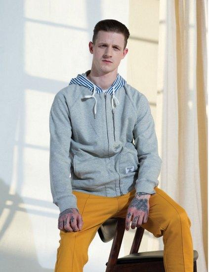 Марки Bedwin & The Heartbreakers и Adidas Originals выпустили совместную коллекцию одежды. Изображение № 9.