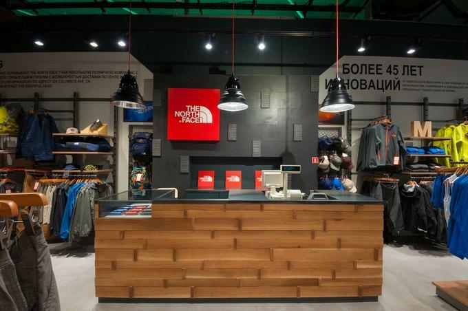 В Москве открылся первый официальный магазин марки The North Face. Изображение № 2.