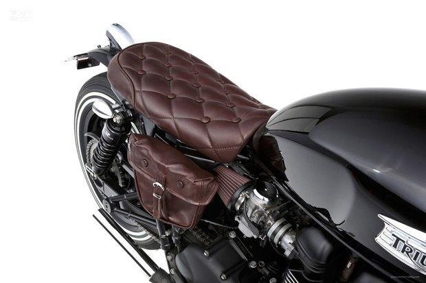 Мастерская Ellaspede представила новый кастом на базе мотоцикла Triumph Bonneville. Изображение № 8.
