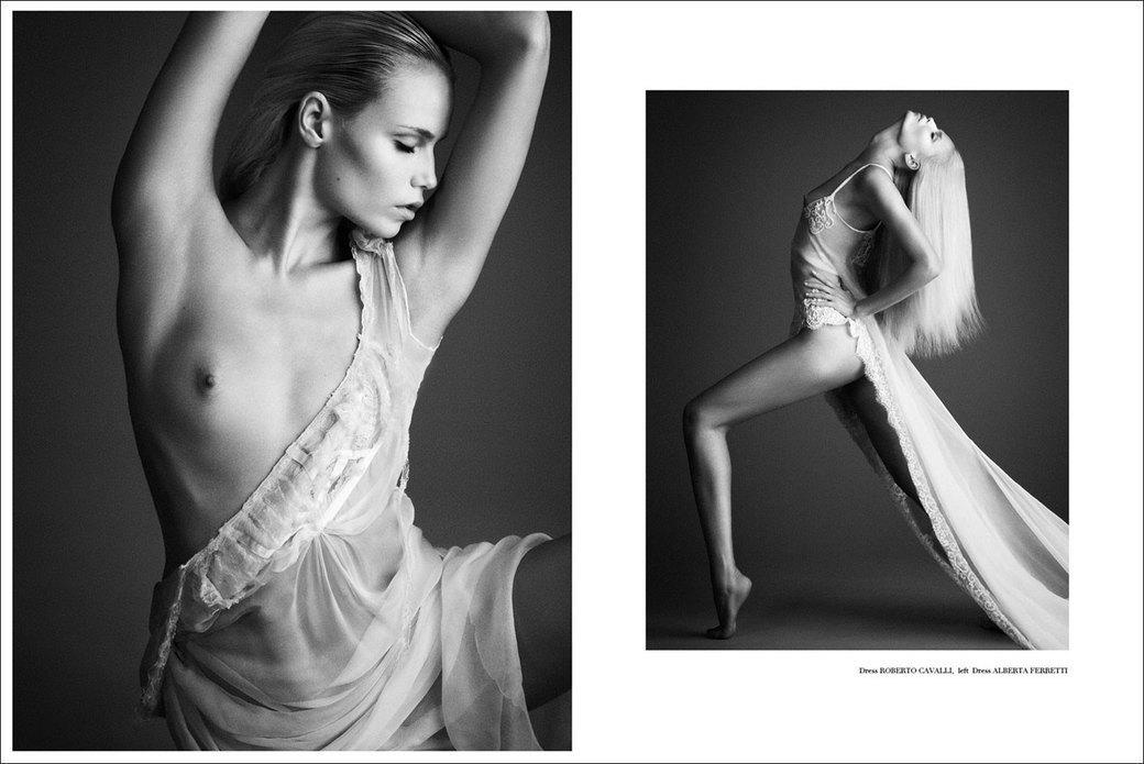 Наташа Поли сфотографировалась для журнала Treats!. Изображение № 3.