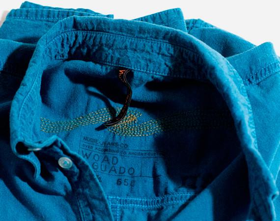 Nudie Jeans окрасили вещи из новой коллекции пигментом цветка вайды. Изображение № 19.