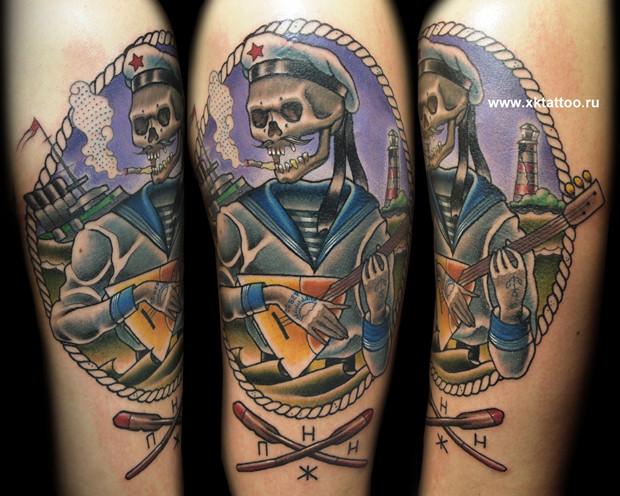 Хруст костей: Интервью с татуировщиком Дмитрием Речным. Изображение № 4.