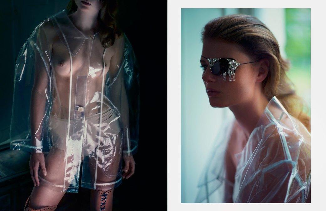 Дэвид Стэндиш сфотографировал модель Мелиссу Белл для журнала S Magazine. Изображение № 3.