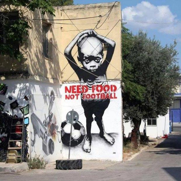 Такой футбол нам не нужен: Граффити против чемпионата мира. Изображение № 6.