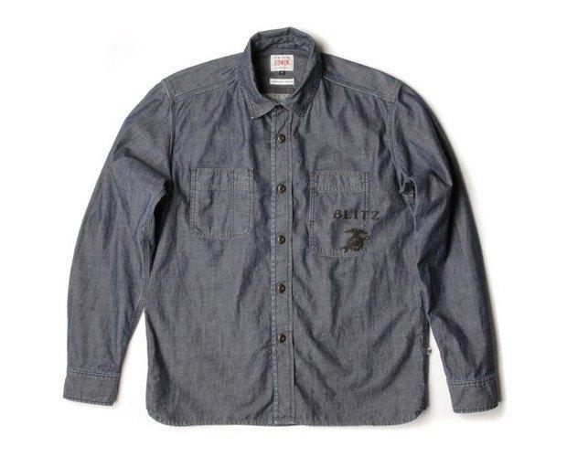 Мастерская Blitz Motorcycles и марка Edwin представили совместную коллекцию одежды. Изображение № 4.