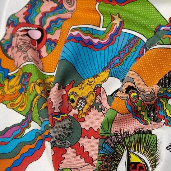 Марка Stussy и японский художник Кейичи Танами выпустили совместную коллекцию футболок. Изображение № 6.