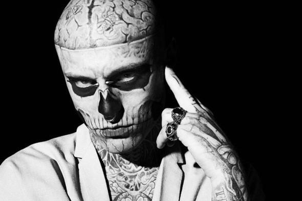 Изображение 8. Татуированная модель Рик Дженест снялся для GQ Italia.. Изображение № 1.