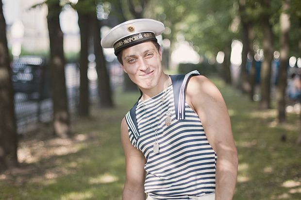 Детали: Моряки и корабли на Дне ВМФ в Санкт-Петербурге. Изображение № 8.