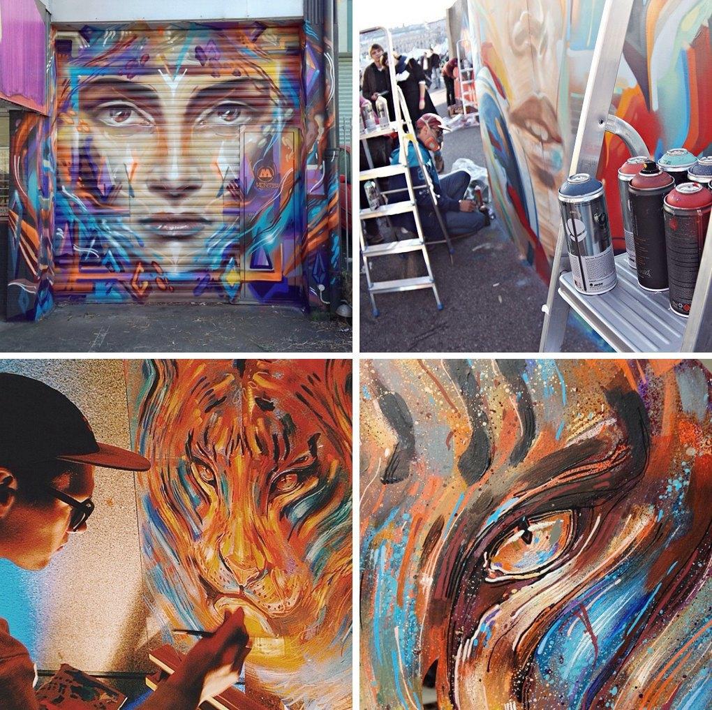 Что публикуют в своих Instagram российские граффити-художники. Часть вторая. Изображение № 12.