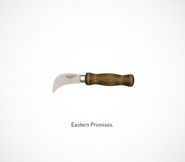 Итальянский дизайнер представил коллекцию ножей знаменитых персонажей. Изображение № 45.