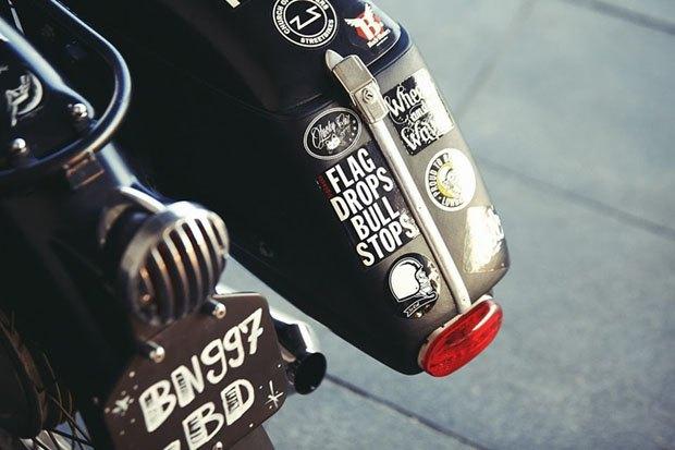Себ Лоренц собрал новый байк на базе BMW R60/5. Изображение № 10.